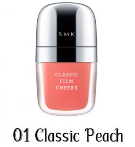 RMK Classic Film Cheeks 01 Classic Peach