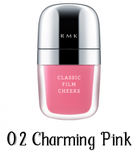 RMK Classic Film Cheeks 02 Charming Pink