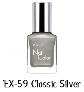 RMK Nail Color EX-59 Classic Silver