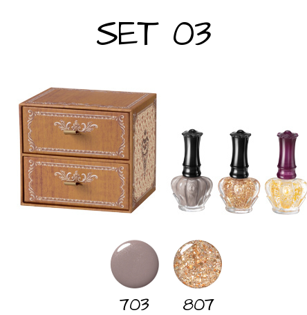 Anna Sui 2016 Holiday Collection Vintage Nail Color Set 03