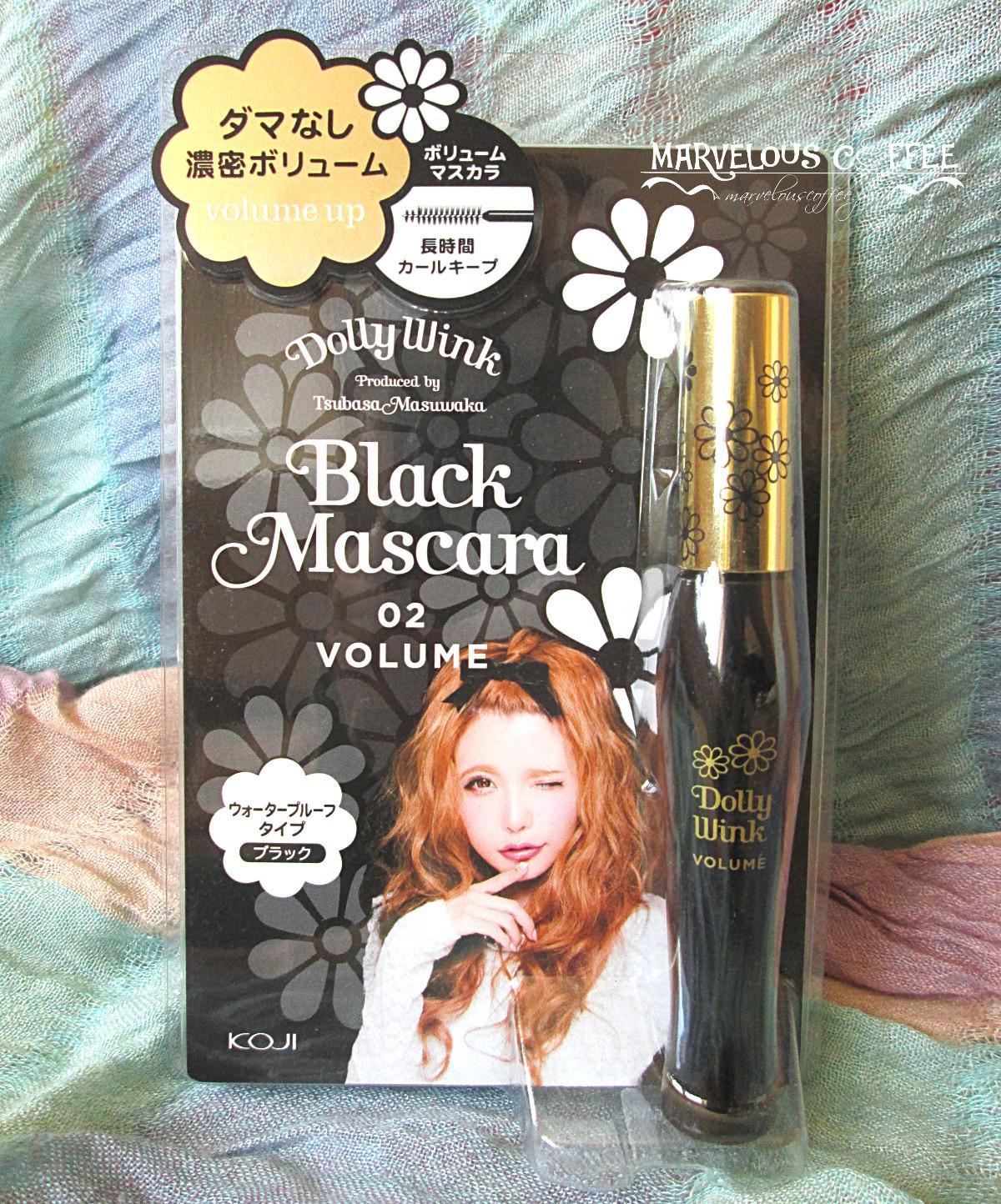 Dolly Wink Black Mascara Volume
