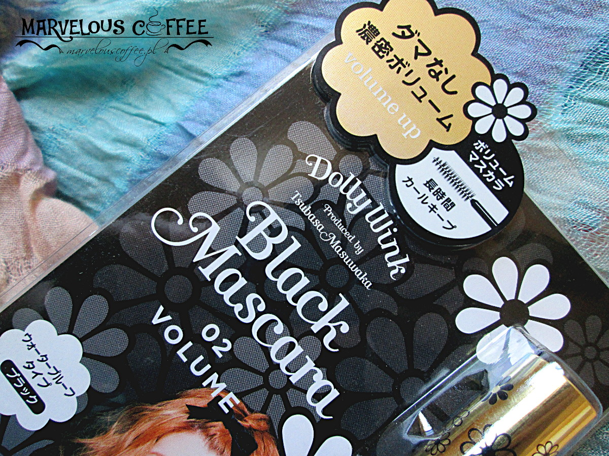 Dolly Wink Black Mascara Volume