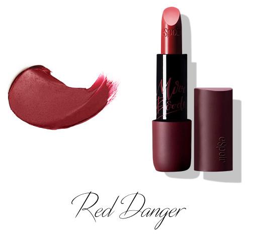 eSpoir Moody Bloody Lipstick Nowear M Red Danger