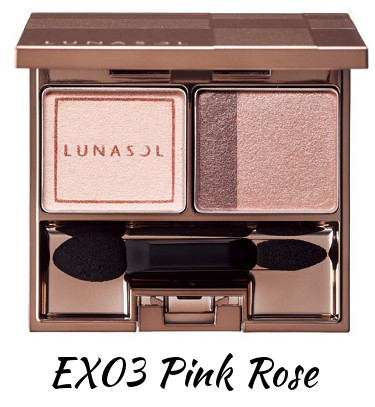 LUNASOL 2016 Winter Makeup Collection A Touch of Sold Gold Gold Nuance Eyes EX03 Pink Rose