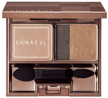 LUNASOL 2016 Winter Makeup Collection A Touch of Sold Gold Gold Nuance Eyes
