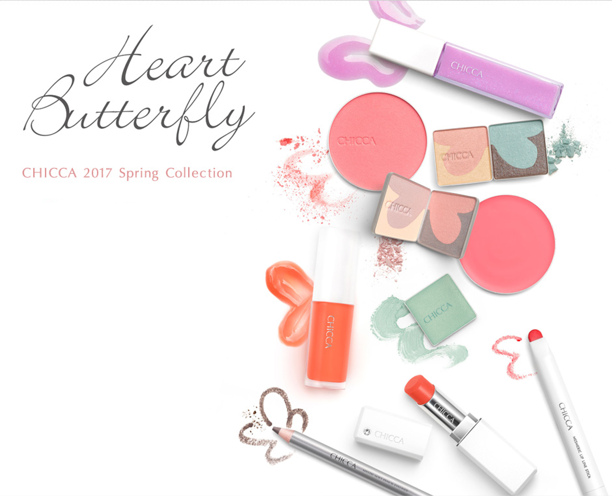 CHICCA 2017 Spring Collection Heart Butterfly