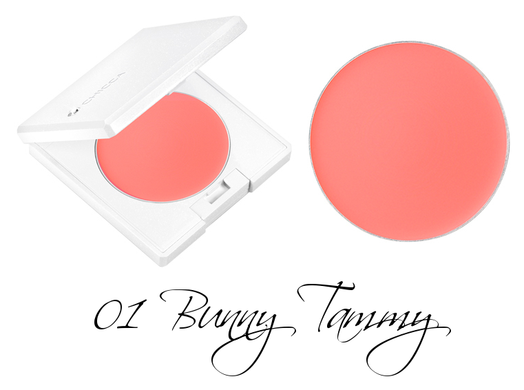 CHICCA Flawless Glow Flush Blush 01 Bunny Tammy