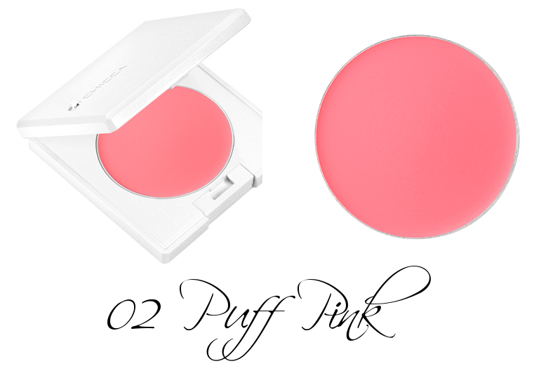 CHICCA Flawless Glow Flush Blush 02 Puff Pink