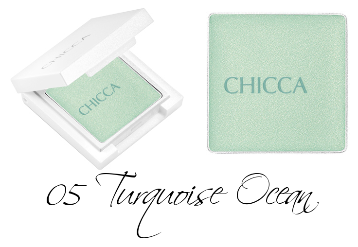 CHICCA Nuance Color Lid 05 Turquoise Ocean