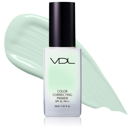 VDL and PANTONE 2017 Greenery Color Correcting Primer Mint