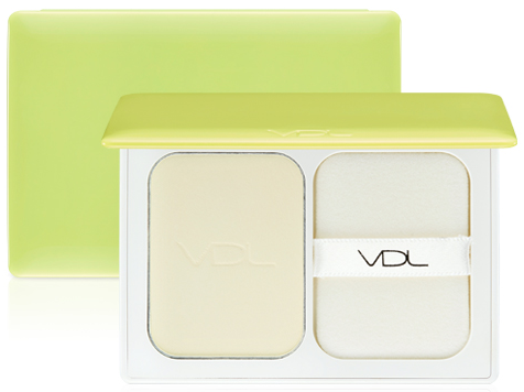 VDL and PANTONE 2017 Greenery Satin Veil Finish Powder Greenery