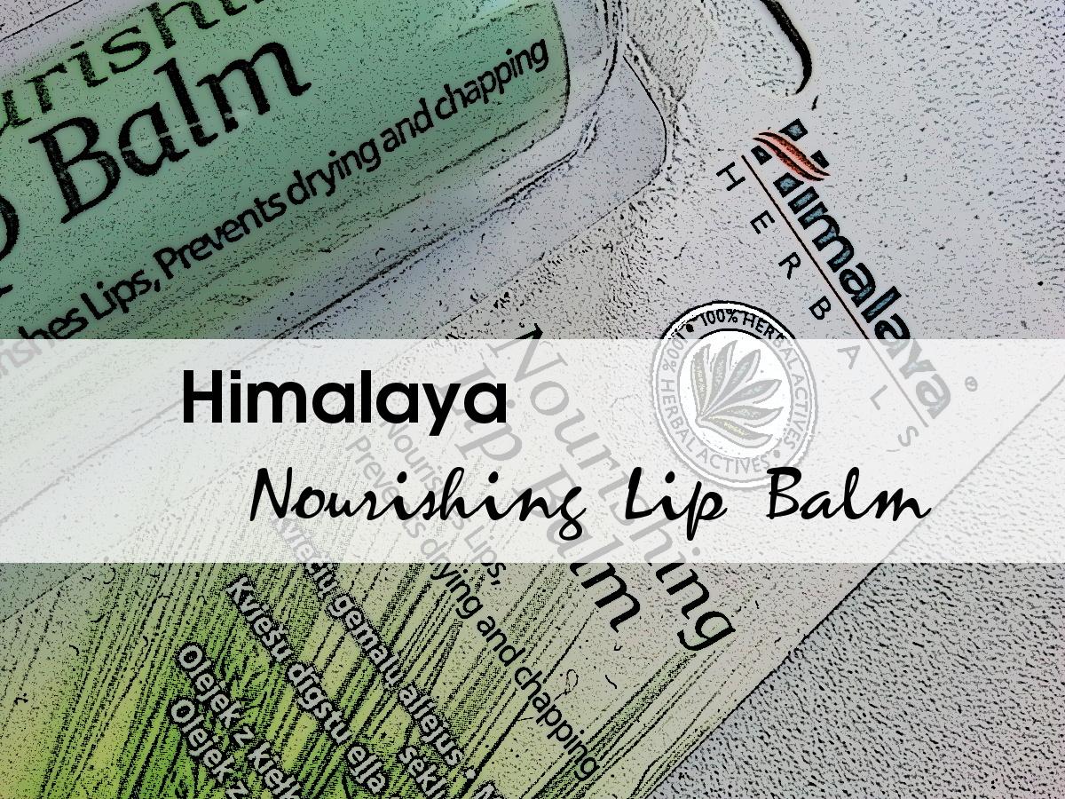 Himalaya Nourishing Lip Balm