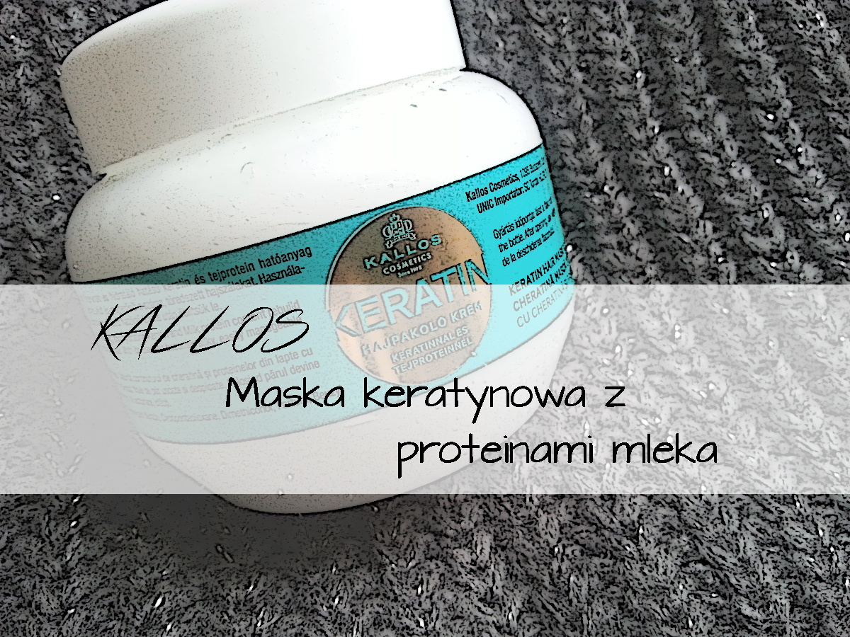 KALLOS Maska keratynowa z proteinami mleka