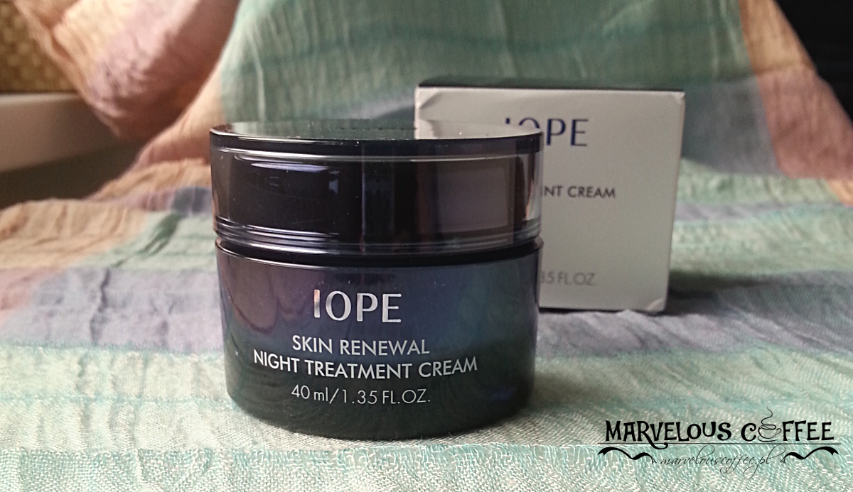IOPE Skin Renewal Night Treatment Cream