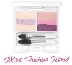 CHICCA 2017 Summer Collection Summer Vivid Mystic Powder Eye Shadow EX36 Fuchsia Island