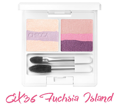 CHICCA 2017 Summer Collection Summer Vivid Mystic Powder Eye Shadow EX36 Fuchsia Island