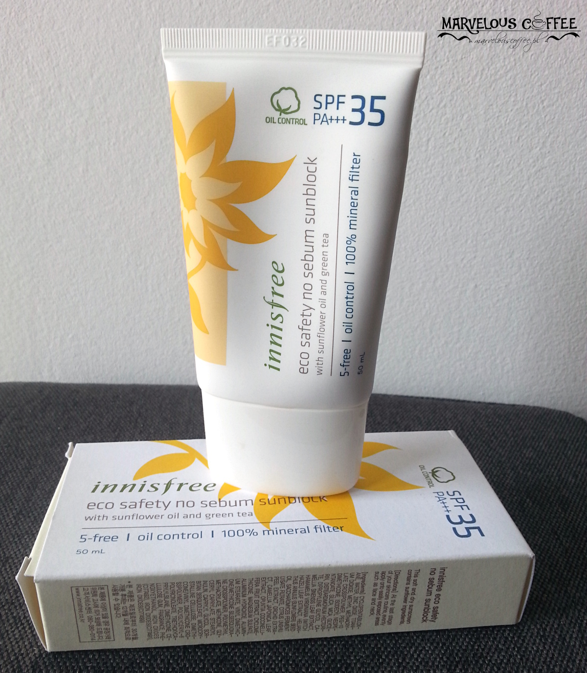 Innisfree Eco Safety No Sebum Sunblock SPF35 PA+++