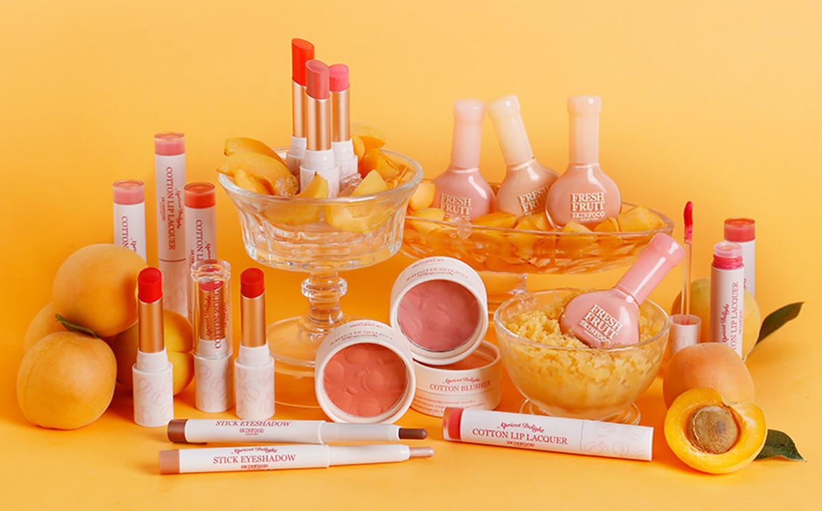 Skinfood Apricot Delight Makeup Line