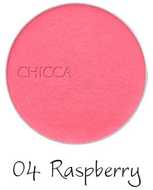 CHICCA 2017 Autumn Collection New Romanticism Flawless Glow Flush Blush Powder 04 Raspberry