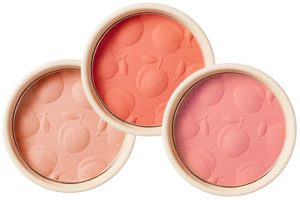 Skinfood Apricot Delight Makeup Line Apricot Delight Cotton Blusher