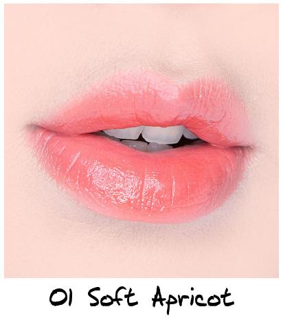 Skinfood Apricot Delight Makeup Line Apricot Delight Cotton Lip Lacquer 01 Soft Apricot
