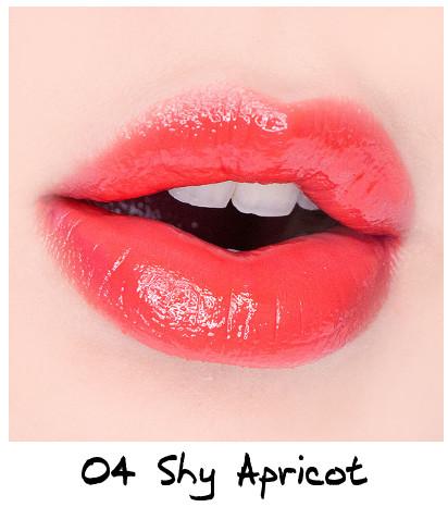 Skinfood Apricot Delight Makeup Line Apricot Delight Cotton Lip Lacquer 04 Shy Apricot