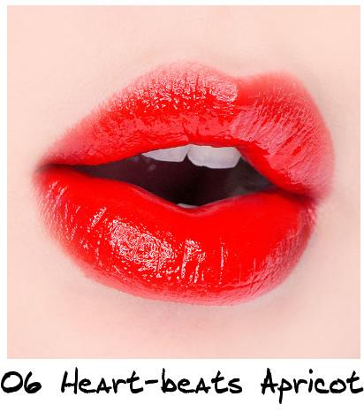 Skinfood Apricot Delight Makeup Line Apricot Delight Cotton Lip Lacquer 06 Heart-beats Apricot
