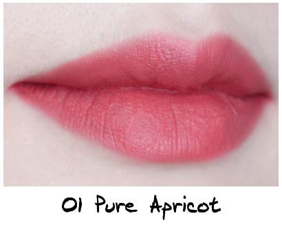 Skinfood Apricot Delight Makeup Line Apricot Delight Cotton Rouge 01 Pure Apricot