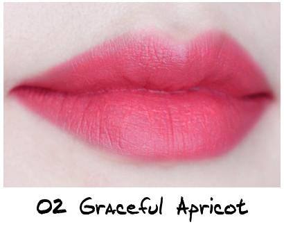 Skinfood Apricot Delight Makeup Line Apricot Delight Cotton Rouge 02 Graceful Apricot