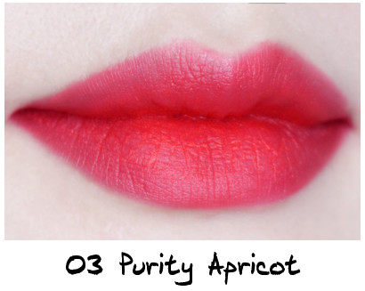 Skinfood Apricot Delight Makeup Line Apricot Delight Cotton Rouge 03 Purity Apricot