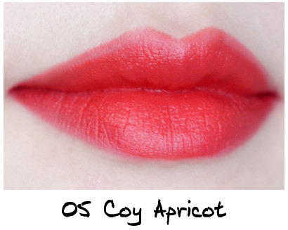 Skinfood Apricot Delight Makeup Line Apricot Delight Cotton Rouge 05 Coy Apricot
