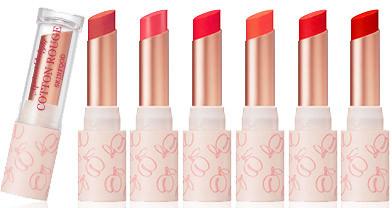 Skinfood Apricot Delight Makeup Line Apricot Delight Cotton Rouge