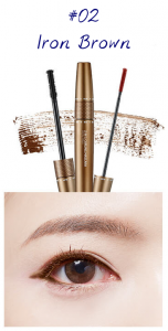 The Face Shop Marvel Edition 2 in 1 Curling Mascara 02 Iron Brown