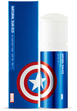 The Face Shop Marvel Edition Ice Air Puff Sun