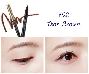 The Face Shop Marvel Edition Inkgel Pencil Eyeliner 02 Thor Brown