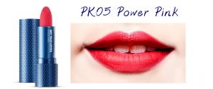 The Face Shop Marvel Edition Matt Touch Lipstick PK05 Power Pink