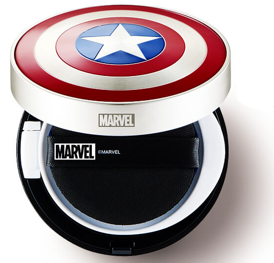 The Face Shop Marvel Edition Multi Sun Cushion For Men