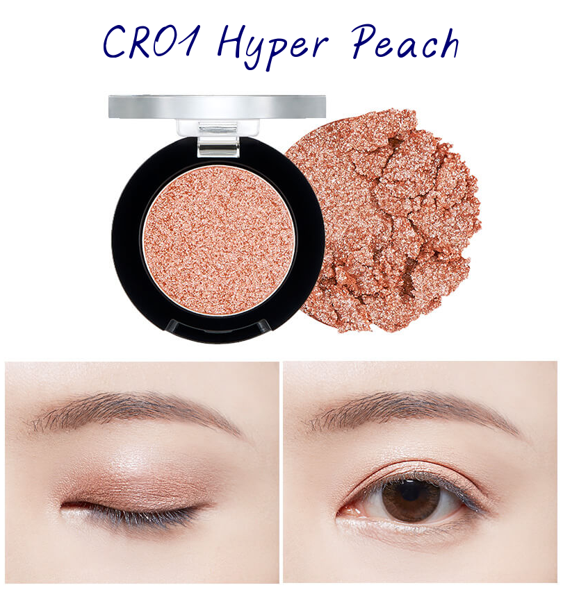 The Face Shop Marvel Edition Single Shadow Jelly CR01 Hyper Peach