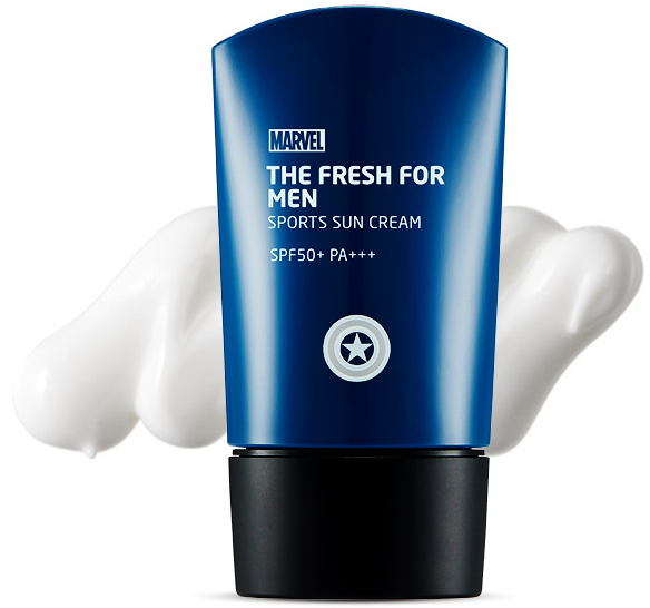 The Face Shop Marvel Edition The Fresh For Man Sports Sun Cream
