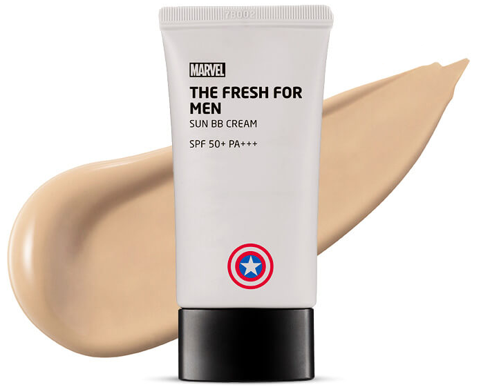 The Face Shop Marvel Edition The Fresh For Man Sun BB Cream