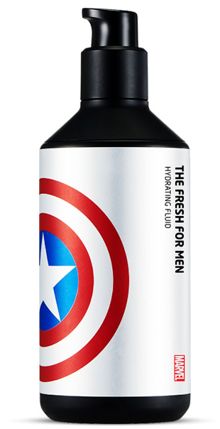 The Face Shop Marvel Edition The Fresh For Men Hydrating Fluid