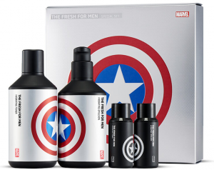 The Face Shop Marvel Edition The Fresh For Men Special Set