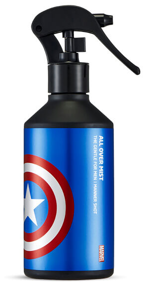 The Face Shop Marvel Edition The Gentle For Men Manner Shot All Over Mist