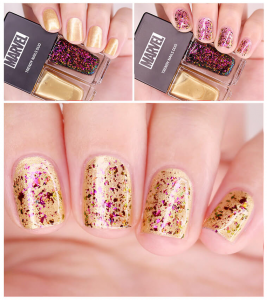 The Face Shop Marvel Edition Trendy Nails Duo 02 Thunder Storm