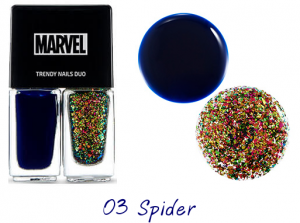 The Face Shop Marvel Edition Trendy Nails Duo 03 Spider