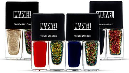 The Face Shop Marvel Edition Trendy Nails Duo