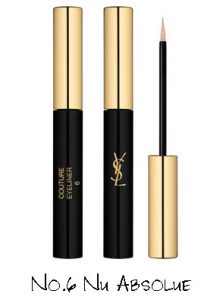 Yves Saint Laurent Night 54 Collection Couture Eyeliner No.6 Nu Absolue