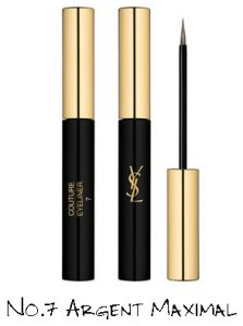 Yves Saint Laurent Night 54 Collection Couture Eyeliner No.7 Argent Maximal