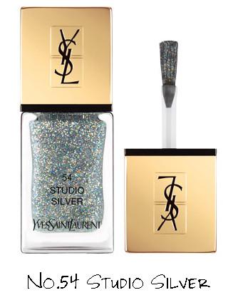 Yves Saint Laurent Night 54 Collection La Laque Couture No.54 Studio Silver