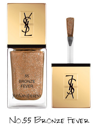Yves Saint Laurent Night 54 Collection La Laque Couture No.55 Bronze Fever